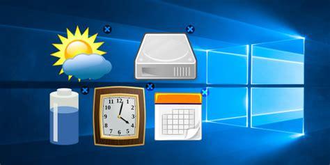 bring desktop gadgets   windows