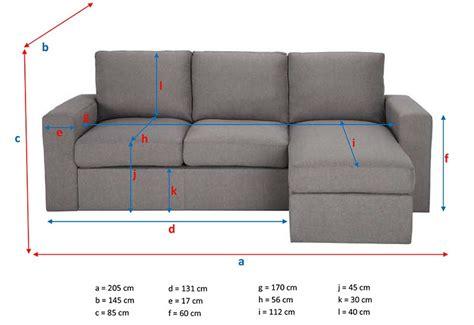 canapé dimensions ᐅ test et avis du canapé d 39 angle jules de maisons du monde