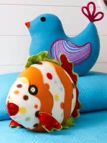 Fleece Pillow Pattern Free Toys