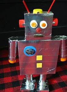 The 25+ best ideas about Recycled Robot on Pinterest ...
