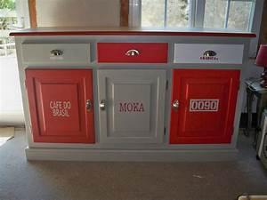 Buffet De Cuisine Gris : afficher l 39 image d 39 origine maison mobilier de salon relooking meuble et meuble mado ~ Mglfilm.com Idées de Décoration