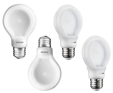 philips a19 dimmable led l philips 200952p 60 watt equivalent slimstyle a19 led light