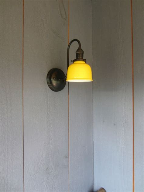 barn wall sconce combines rustic barn look with modern