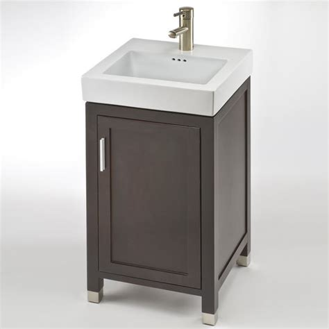 18 bathroom vanity with sink bathroom vanities contempo 18 39 39 one door vanity for new