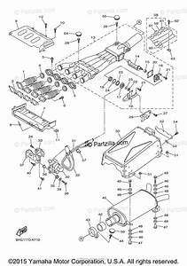 Yamaha Snowmobile 2012 Oem Parts Diagram For Exhaust