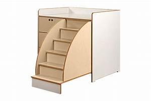 Treppe Mit Schubladen : wickeltisch mit treppe schubladen tischlerei schade ~ Watch28wear.com Haus und Dekorationen