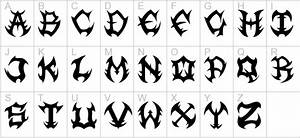 metal font bing images fontage pinterest fonts With heavy metal alphabet letters