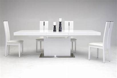 Dining Modern Table Extendable Zenith Gloss Sets