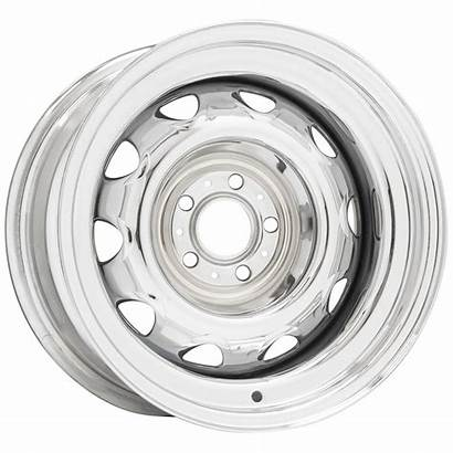 Pattern Chrome Chrysler Rallye Series Wheel Muscle