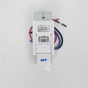 Intermatic St01 7 Day Programmable In Wall Digital Timer