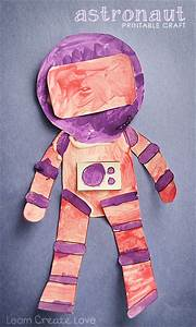 Printable Astronaut Craft