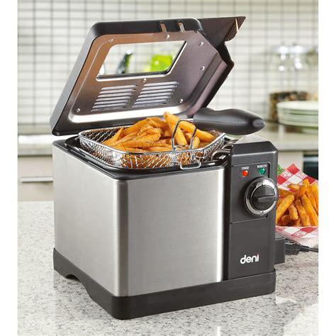 deep fryer deni qt kitchen appliances guide