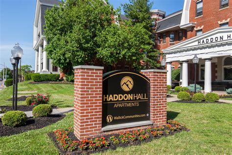 Floor Plans Of Haddon Hall Apartments In Cincinnati Oh