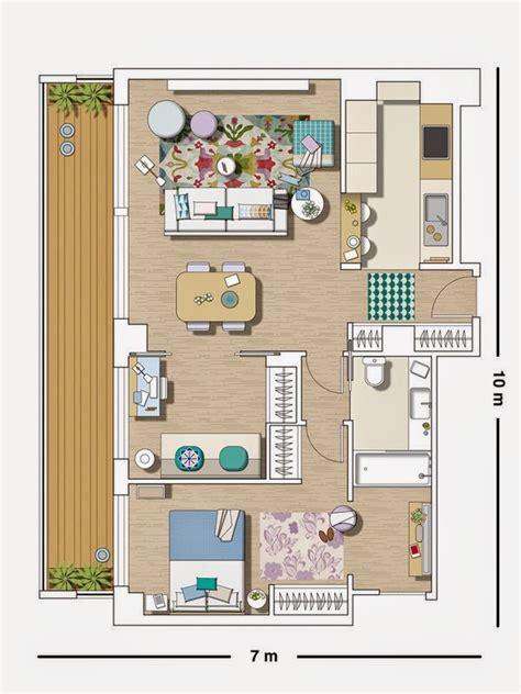 chambre deco plan appartement 2 chambres picslovin