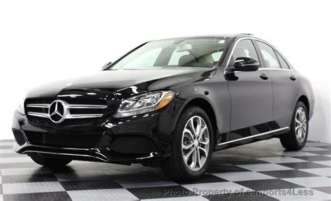 2016 Used Mercedes-benz C-class Certified C300 4matic Awd