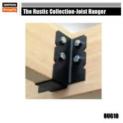 simpson strong tie ou610 the rustic collection joist hanger