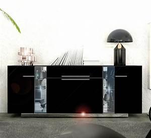 Emejing Buffet Noir Laque Gallery Design Trends 2017 Shopmakers Us