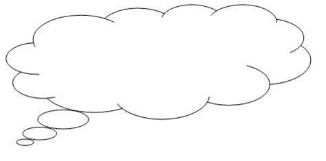 thinking cloud writing template image cloud bubble jpg templates wiki fandom powered