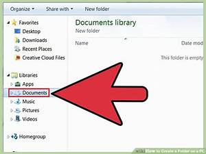 How to Create a Folder on a PC: 10 Steps (with Pictures ...