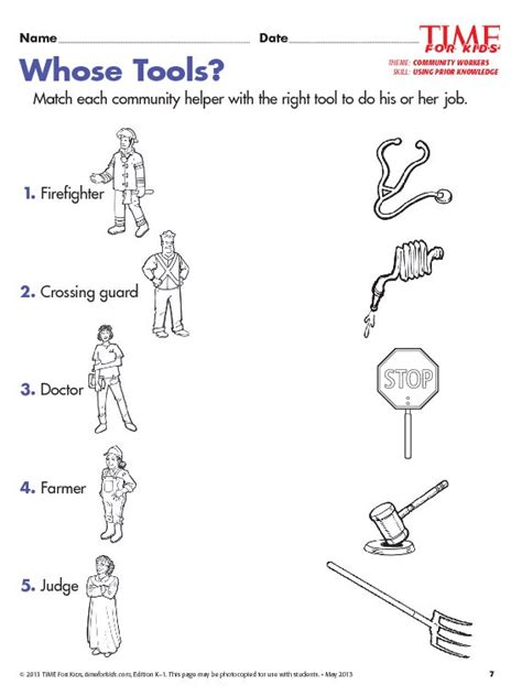 grade 1 community helpers worksheets community helpers 246 | 0de3500d190886d32f04b855fd406f09