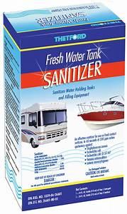 Fresh Water Tank Sanitizer