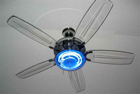 Blue Ceiling Fans With Lights Inspiring Neon Ceiling Fan