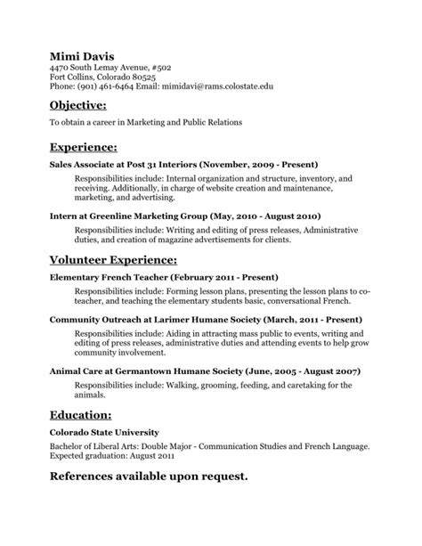 sle cover letter sle resume with linkedin url