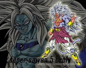 Son Goku Super saiyan 5 - Anime Picture