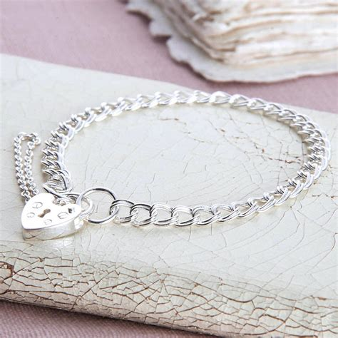 Girls Sterling Silver Padlock Charm Bracelet By. Jewelry Armoire. Stacked Bracelet. Arrow Necklace. Unique Engagement Rings. Round Diamond Ring With Diamond Band. Vintage Stud Earrings. Cuffed Bracelet. Art Deco Stud Earrings