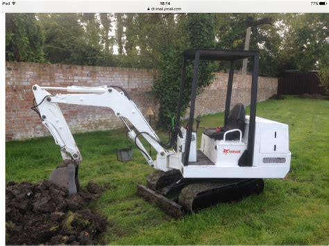 bobcat  ton mini excavator digger  sale  united kingdom