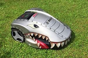 Rasenmäher Roboter Bauanleitung : shark attack look at our creative designed bosch indego ~ Michelbontemps.com Haus und Dekorationen