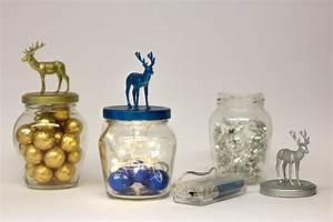 Kleine Gläser Mit Schraubverschluss : weihnachtsdeko selber basteln hirschgl ser diy academy ~ Eleganceandgraceweddings.com Haus und Dekorationen