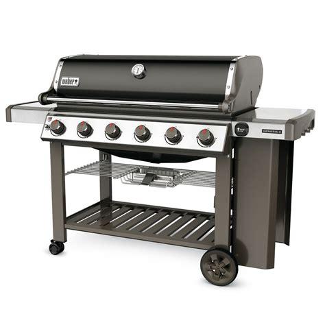 barbecue plancha gaz barbecue gaz weber genesis ii e 610 noir plancha offerte