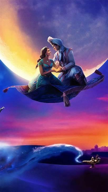 Aladdin Mobile Mena Massoud Naomi Scott Disney
