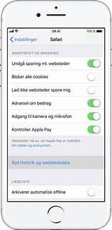 Rydning af historik og cookies fra, safari p din iPhone, iPad eller iPod