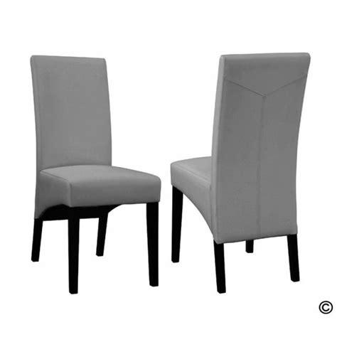 chaise grise salle a manger chaise de salle a manger grise et blanc