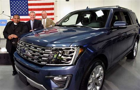 Walker, Texas Pastor, Gets 2018 Expedition From Ford