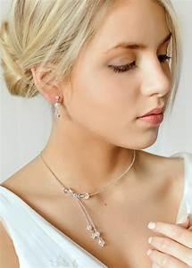 collier de mariee sparkle en cristal et perles de rcoaille With collier perle mariée