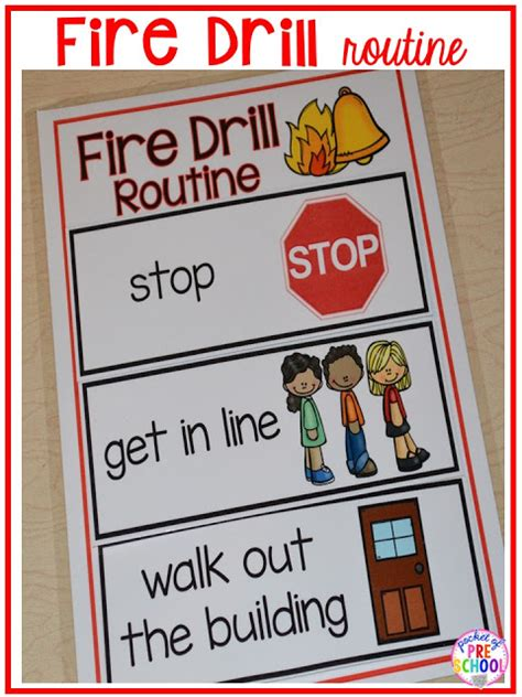 emergency drills visual routine posters amp supports 549 | Slide7 2