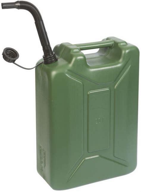 bolcom benzine jerrycan army  liter groen