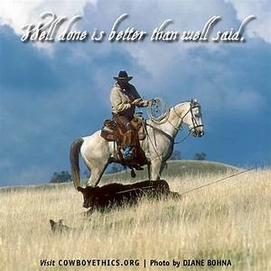 www.cowboyethic... Horse And Country Quotes