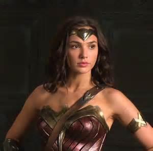 Gal Gadot as Wonder Woman Costume