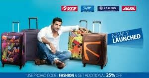 VIP Backpacks from Rs. 626, Duffle Bags from Rs. 1200