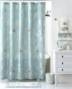 martha stewart collection mariposa shower curtain