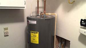Rheem Hot Water Tank Installation