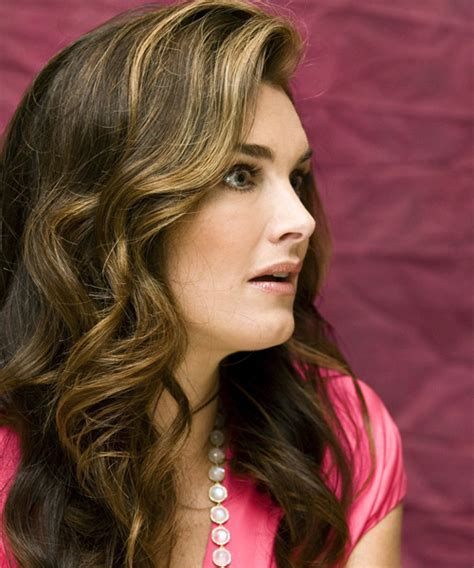Brooke Shields Long Wavy Formal Hairstyle