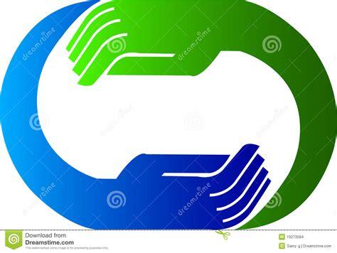 Hand Logo Stock Vector. Image Of Gloves, Blue, Glove