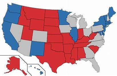 Swing States Important Unidos America Why Estados