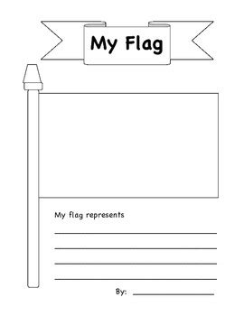 design your own flag design your own flag by megan scatena teachers pay teachers