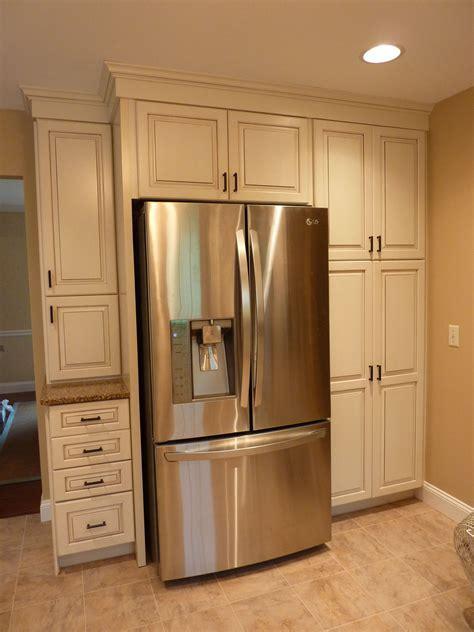 Above Refrigerator Cabinet Storage   Home Furniture Decoration